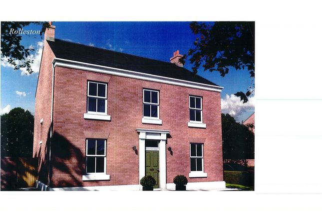 Thumbnail Detached house for sale in Heritage Parrk, Tutbury, Burton-On-Trent