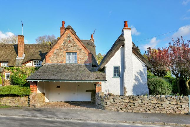 Thumbnail Cottage for sale in Main Street, Newtown Linford, Leicester