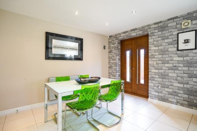 Dining Room of Mill Weir Gardens, Sefton Village, Liverpool, Merseyside L29