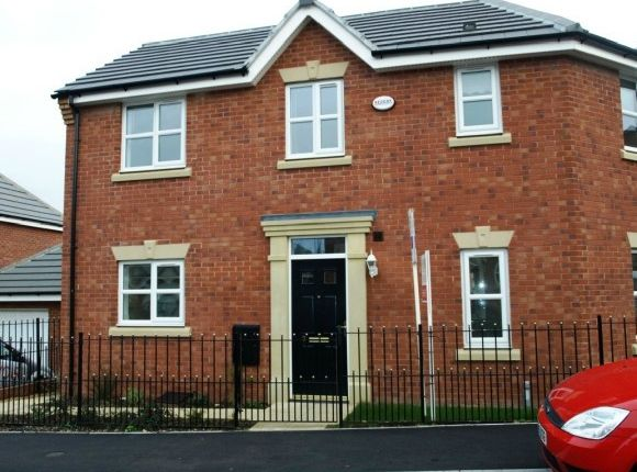 Thumbnail Semi-detached house to rent in Frost Close, Desborough, Kettering