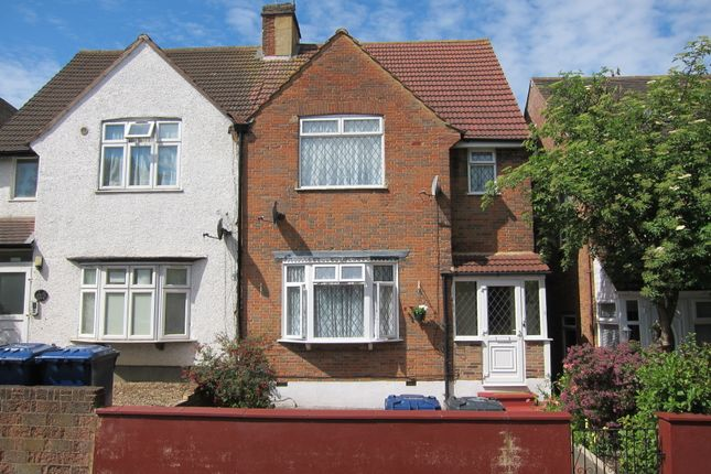 Thumbnail Semi-detached house for sale in Greenford Avenue, Hanwell