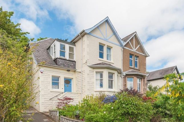Thumbnail Semi-detached house to rent in Belmont Gardens, Edinburgh