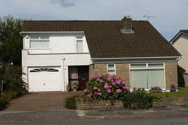 Thumbnail Detached house for sale in Parkfields, Pen-Y-Fai, Bridgend