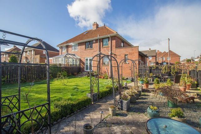 Thumbnail Semi-detached house for sale in Axwell View, Blaydon-On-Tyne