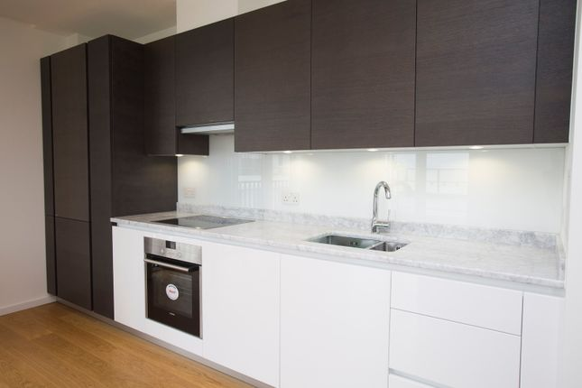 Kitchen With Integrated Appliances.