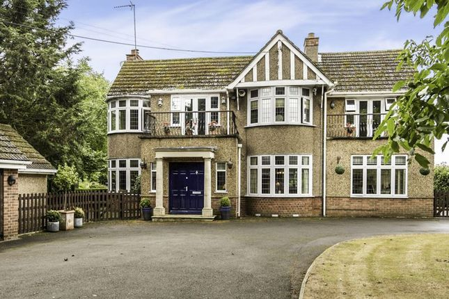 Thumbnail Detached house for sale in The Avenue, Overstone, Northampton