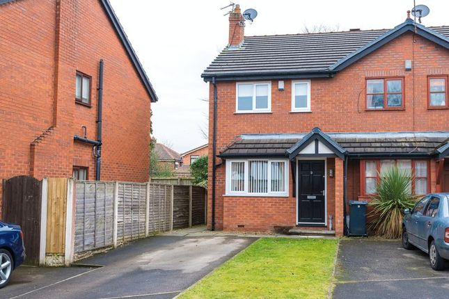 Thumbnail Mews house for sale in Brook Farm Close, Aughton, Ormskirk