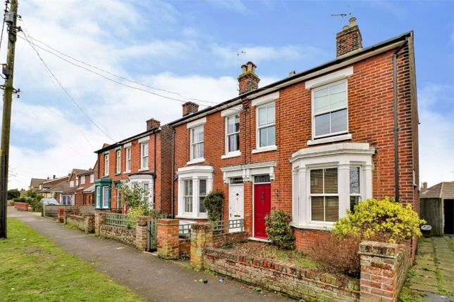 Thumbnail Semi-detached house for sale in Ernest Road, Wivenhoe, Colchester, Essex