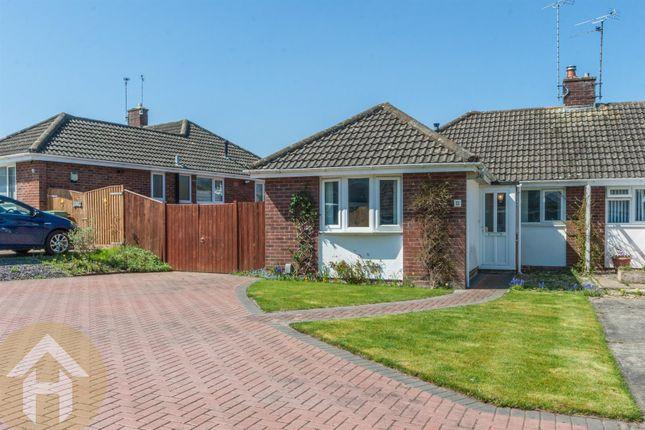 Thumbnail Semi-detached bungalow for sale in Noredown Way, Royal Wootton Bassett, Swindon