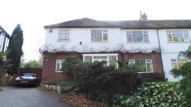 Thumbnail Semi-detached house for sale in Penns Lane, Walmley, Sutton Coldfield