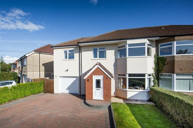 Thumbnail Semi-detached house for sale in The Crescent, Backwell, Bristol
