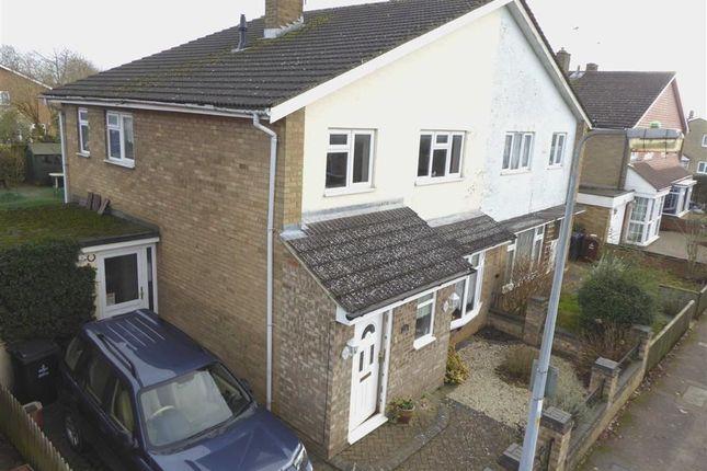 Thumbnail Semi-detached house for sale in Park Close, Longmeadow, Stevenage, Herts