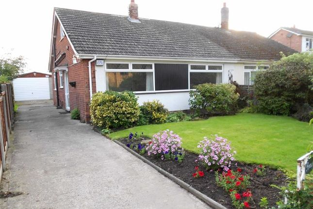 Thumbnail Semi-detached bungalow for sale in Wettenhall Road, Poole, Nantwich, Cheshire