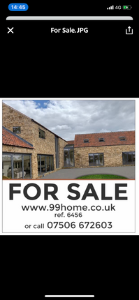 Thumbnail Detached house for sale in Hough Road, Frieston, Grantham