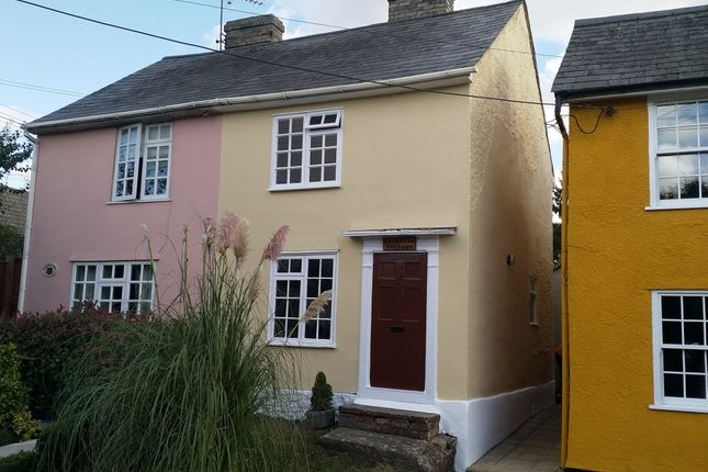 2 bed semi-detached house for sale in The Street, Poslingford, Sudbury CO10