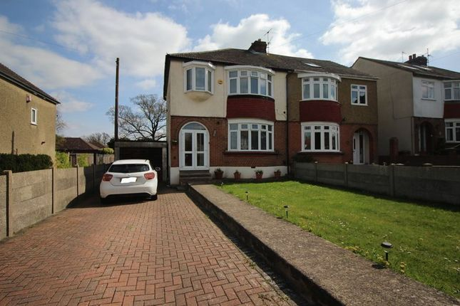 Thumbnail Semi-detached house to rent in Wilson Avenue, Rochester