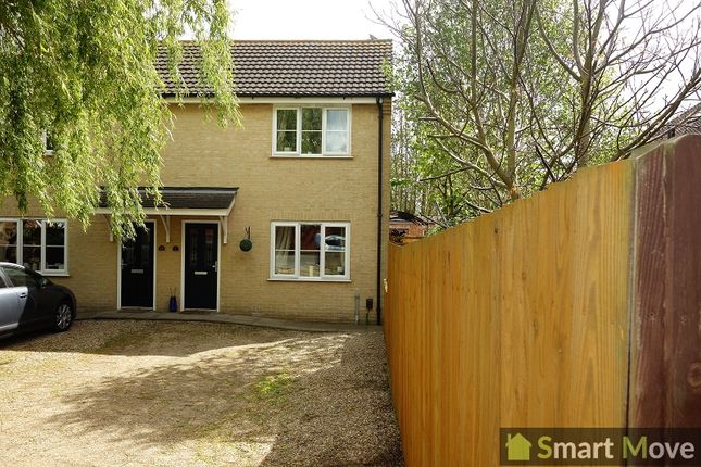 Thumbnail Semi-detached house to rent in Crossway Hand, Whittlesey, Peterborough, Cambridgeshire.