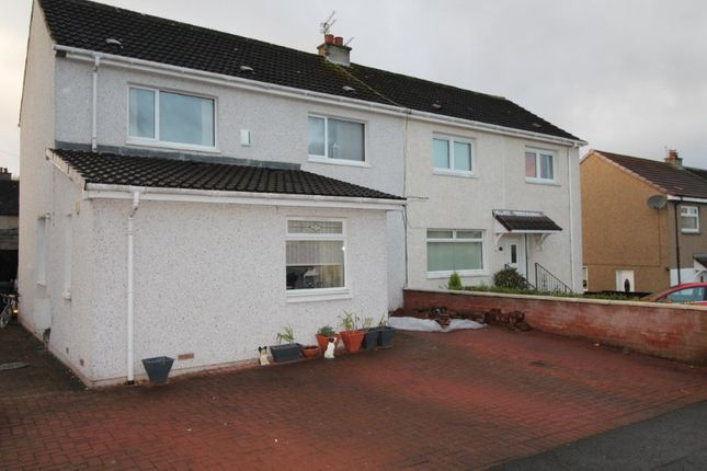 Thumbnail Semi-detached house for sale in Scarhill Avenue, Airdrie, North Lanarkshire