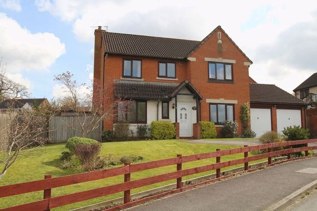 Thumbnail Detached house for sale in Rodway, Wanborough, Swindon