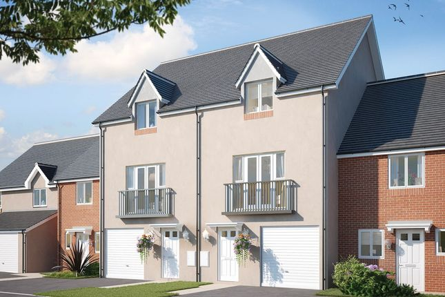 Thumbnail Town house for sale in Aberthaw Road, Newport