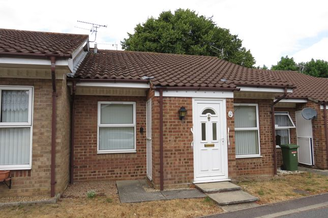 Thumbnail Terraced bungalow for sale in Marlborough Court, Sprowston, Norwich
