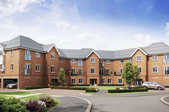 Thumbnail Flat for sale in Hawkswood, Mill Lane, Calcot, Reading