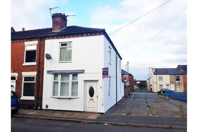 Thumbnail End terrace house for sale in Brakespeare Street Goldenhill, Stoke-On-Trent
