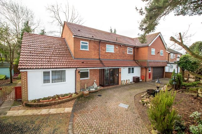 Thumbnail Detached house for sale in Ryelaw Road, Church Crookham, Fleet