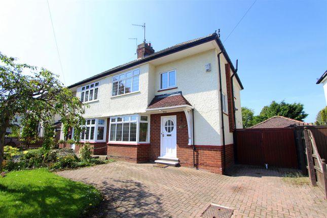 Thumbnail Semi-detached house to rent in Carmel Road South, Darlington