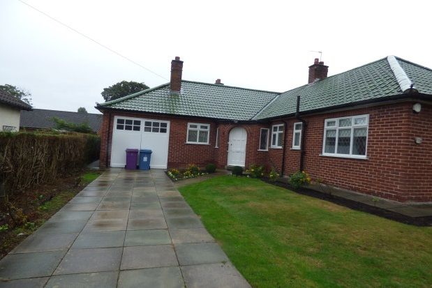 Thumbnail Bungalow to rent in Darley Drive, Liverpool
