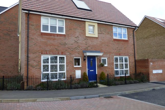 Thumbnail Link-detached house to rent in Gwendoline Buck Drive, Aylesbury