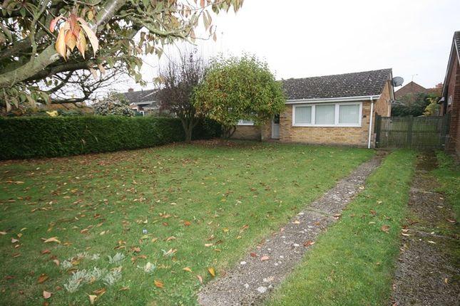 Thumbnail Detached bungalow for sale in Kerridges, East Harling, Norwich