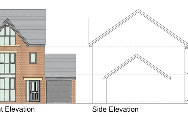 Thumbnail Land for sale in Windsor Avenue, Irlam, Manchester