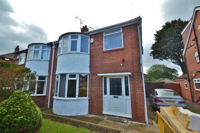 Thumbnail Semi-detached house for sale in Gledhow Park Avenue, Chapel Allerton, Leeds