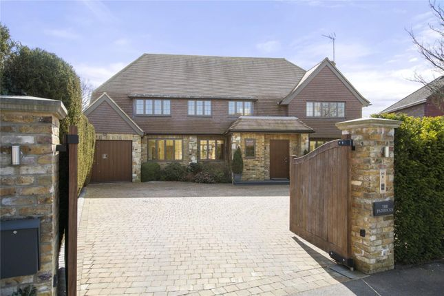 Thumbnail Detached house for sale in Charlwood Drive, Oxshott, Leatherhead, Surrey
