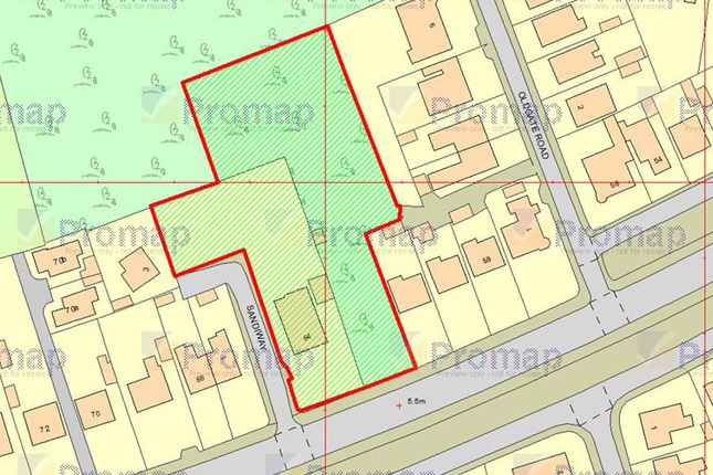 Thumbnail Land for sale in Victoria Road West, Prestatyn
