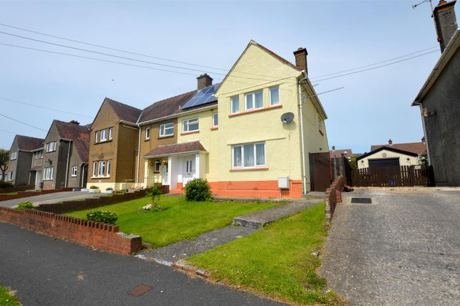 Thumbnail Semi-detached house for sale in Maesglas, Pontyates, Llanelli