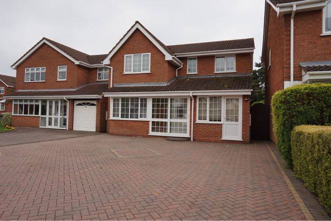 Thumbnail Detached house for sale in Nightingale Crescent, Willenhall