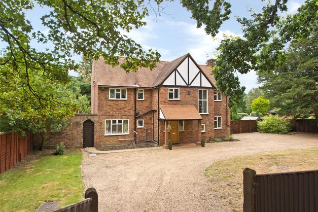 Thumbnail Detached house for sale in Byfleet Road, Cobham, Surrey