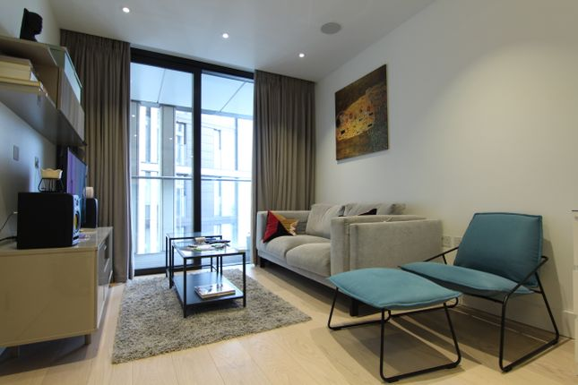 1 bed flat to rent in 3 Merchant Square East, London