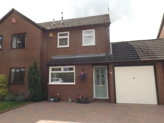 Thumbnail Semi-detached house for sale in Arley Close, Alsager, Stoke-On-Trent, Cheshire