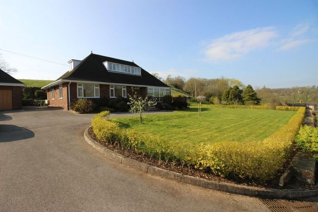 Thumbnail Bungalow for sale in Micklea Lane, Longsdon, Stoke-On-Trent