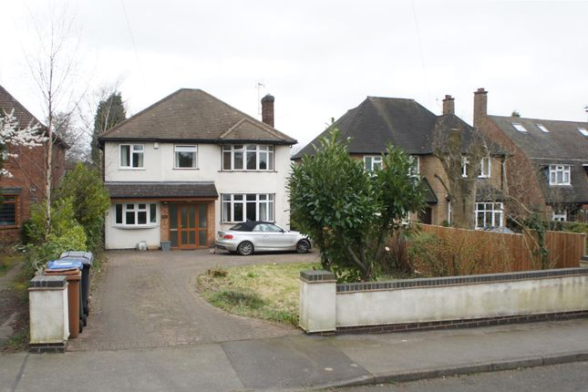 Thumbnail Detached house for sale in Leicester Road, Markfield