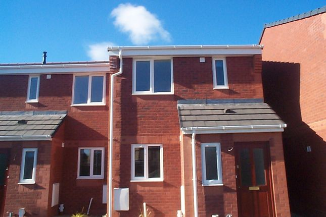 Thumbnail Town house to rent in Cae Richard, Rhosllanerchrugog, Wrexham