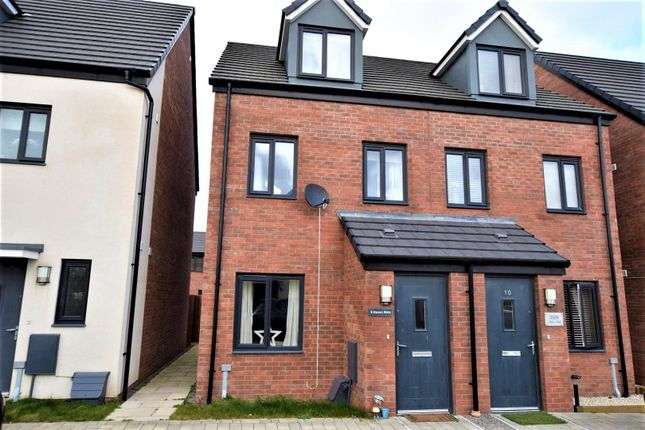 Thumbnail Semi-detached house for sale in Haven Walk, Barry