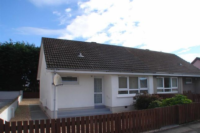 Thumbnail Semi-detached bungalow for sale in Glebe Road, Mosstodloch