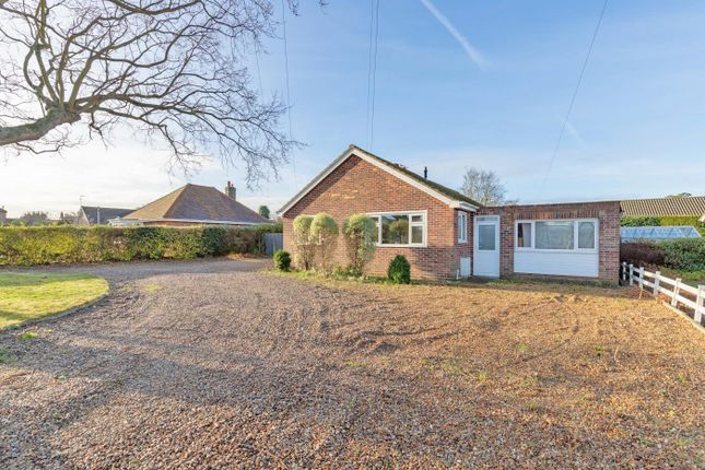 Thumbnail Detached bungalow for sale in Hunstanton Commercial Park, Kings Lynn Road, Hunstanton