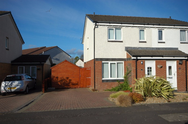 Thumbnail Semi-detached house to rent in Pentland Drive, Prestwick, South Ayrshire, 2th