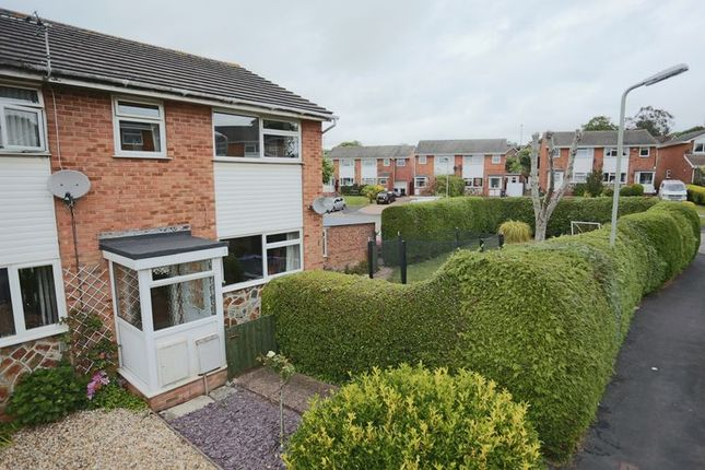 Thumbnail Terraced house for sale in Redwood Close, Exmouth
