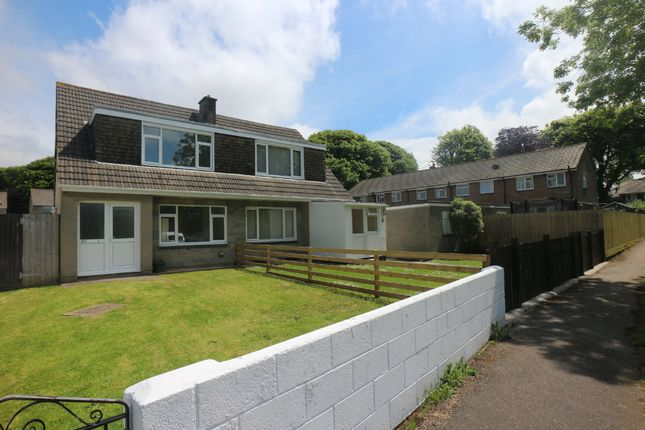 Thumbnail Semi-detached house for sale in Trethew Gardens, Camborne